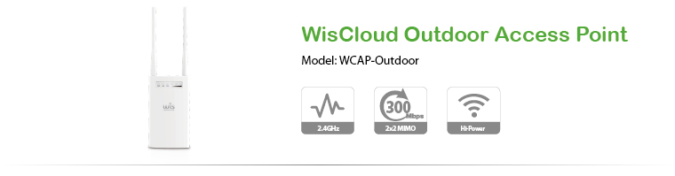 WisCloud Outdoor Access Point