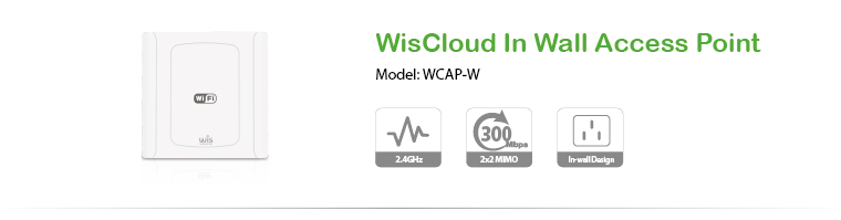 WisCloud In Wall Access Point