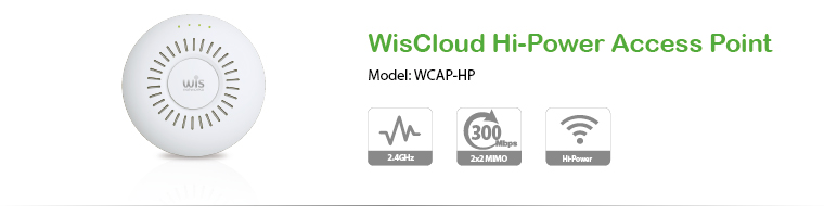 WisCloud Hi-Power Access Point