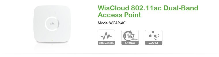 WisCloud 802.11ac Dual-Band Access Point